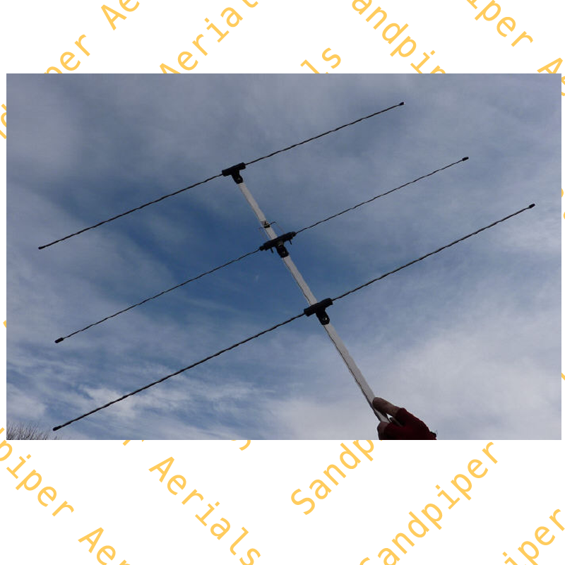 Dual band clip-on dipole. 2m/70cm. - Sandpiper AT Ltd.