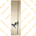 Clip-on dipole 2 mtr top half flexi (50cm)